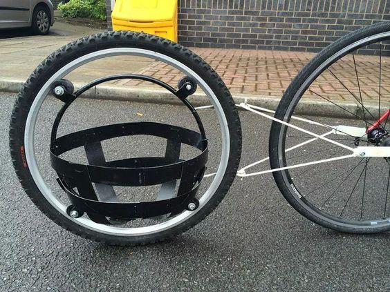 Велоприцеп (велотрейлер), прицеп для велосипеда
